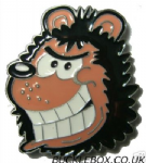 GNASHER HEAD Belt Buckle + display stand